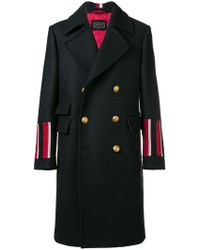 Tommy Hilfiger - Double Breasted Coat - Lyst