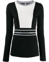 NO KA 'OI ロングスリーブ セーター - ブラック