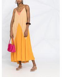 Dorothee Schumacher Summer Heat カラーブロック ドレス - オレンジ