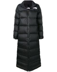 The North Face Long Pufer Coat - Black