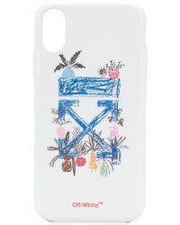 Off-White c/o Virgil Abloh De Graft Arrow Print Iphone X/xs Cover - White