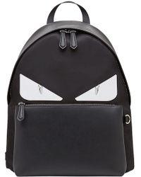 fd5a90a4af35 Fendi - Large Bag Bugs Backpack - Lyst
