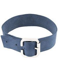 Manokhi - Buckled Collar - Lyst