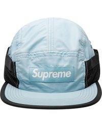 Supreme Gorra con parche del logo - Negro