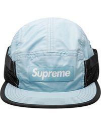 Supreme Cappello da baseball Camp con applicazione - Nero