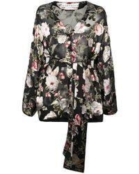 Alice + Olivia - Rosario Floral Kimono Top - Lyst