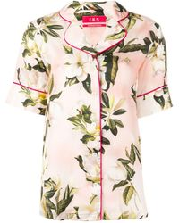 F.R.S For Restless Sleepers - Camisa con motivo floral - Lyst