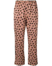 Love Stories - Star Print Pajama Trousers - Lyst