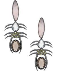 Camila Klein - Millipede Earrings - Lyst