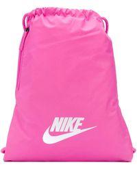 Nike ドローストリング バックパック - ピンク