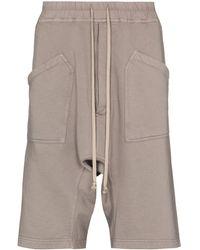 Rick Owens Drkshdw Cargo-Shorts - Grau