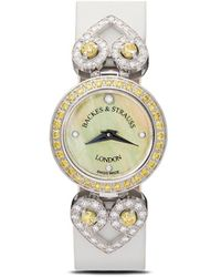 Backes & Strauss Наручные Часы Miss Victoria 18 Мм - Желтый