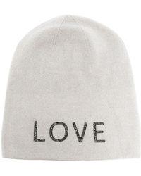Warm-me Damian Love Cashmere Beanie - Gray