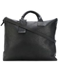 Marsèll Tag Detail Structured luggage - Black