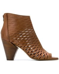 Strategia - Perforated Sandals - Lyst