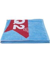 DSquared² - Logo Printed Beach Towel - Lyst