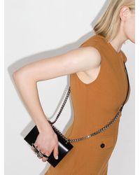 Alexander McQueen Мини-сумка На Плечо Sculptural - Черный