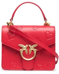 Pinko Mini sac à main Love - Rouge