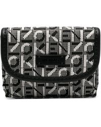 KENZO Courier 財布 - ブラック