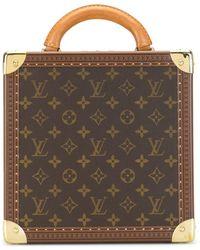 Louis Vuitton Kosmetikkoffer mit Monogramm - Braun