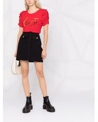 Liu Jo Aライン ミニスカート - ブラック