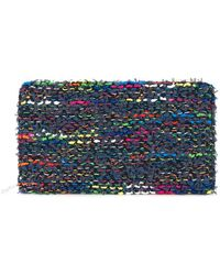Coohem - Knit Tweed Large Wallet - Lyst
