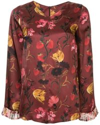Mother Of Pearl - Flared Sleeve Blouse - Lyst