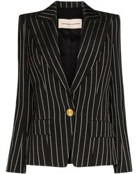 Alexandre Vauthier - Pinstripe Single-breasted Blazer - Lyst