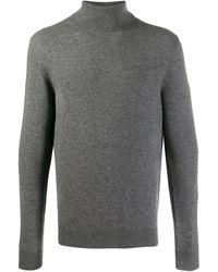 Cruciani タートルネック セーター - グレー