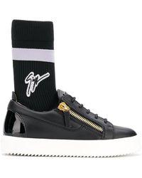 Giuseppe Zanotti Gail Plus Sneakers - ブラック