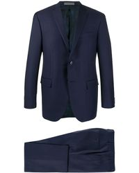 Corneliani Fitted Two-piece Suit - Blue