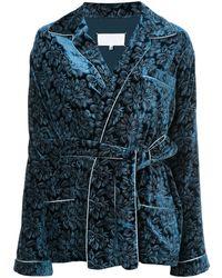 Maison Margiela パジャマスタイル シャツジャケット - ブルー
