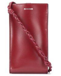 Jil Sander Tangle Phone Case - Red