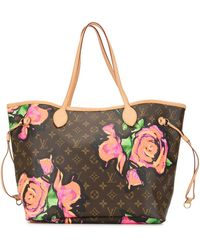 Louis Vuitton Сумка-тоут Neverfull Mm 2009-го Года Pre-owned - Коричневый