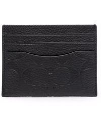 COACH カードケース - ブラック