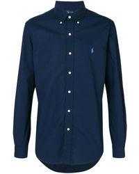 Ralph Lauren ロゴ シャツ - ブルー