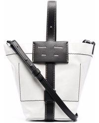 PROENZA SCHOULER WHITE LABEL Small Sullivan Coated Canvas Bag - Nero