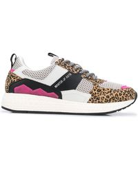 MOA Low-top Trainers - Brown