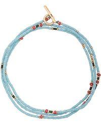 M. Cohen - Multi Beaded Bracelet With 18k Gold Detail - Lyst