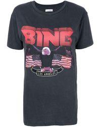 Anine Bing Bing Tシャツ - グレー