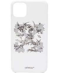 Off-White c/o Virgil Abloh Birds Iphone 11 Pro Max Case - White