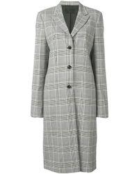 RTA Single-breasted Coat - Black