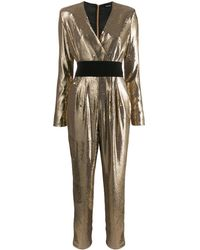 P.A.R.O.S.H. Pilled Jumpsuit - Metallic