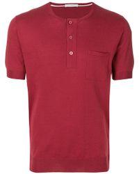 Paolo Pecora - Short Sleeve Polo Shirt - Lyst