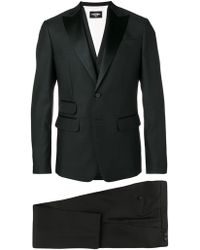 DSquared² Formal Three Piece Suit - Black