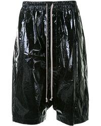 Rick Owens ハーフパンツ - ブラック