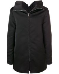 Rick Owens Straight-fit Zipped Coat - Black