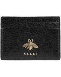 Gucci - Animalier カードケース - Lyst