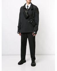 Ambush ロゴ ベルトバッグ - ブラック