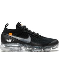 NIKE X OFF-WHITE Vapormax Fk Sneakers - Black